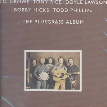 BLUEGRASS ALBUM BY BLUEGRASS ALBUM BAND (CD)